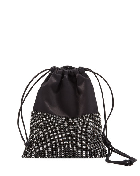 6f122e65bdc9 Alexander Wang Ryan Mini Crystal Bucket Bag