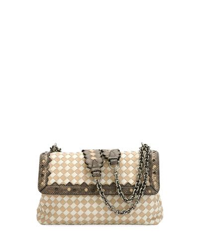 Olimpia Small Check Shoulder Bag