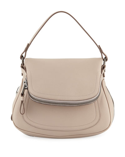 Jennifer Large Grain Calf Shoulder Bag