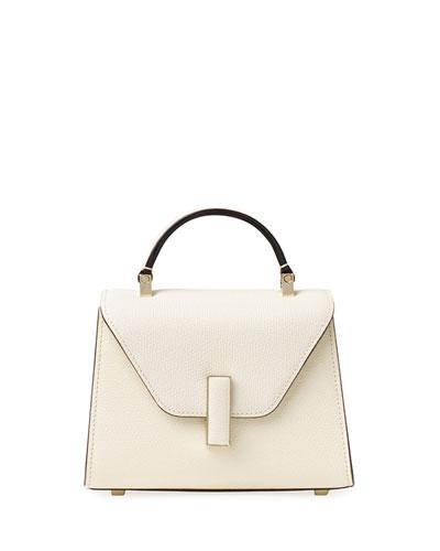 Saffiano Iside Micro Top Handle Bag
