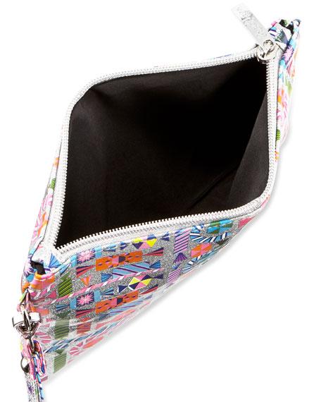 3568c1ec39 Bari Lynn Girls  Shimmer Candy-Print Clutch Bag w  Crystal Candy Key ...