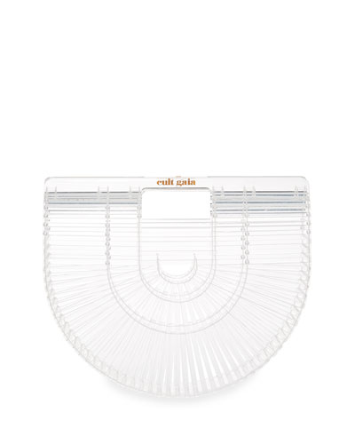 Acrylic Ark Small Clutch Bag