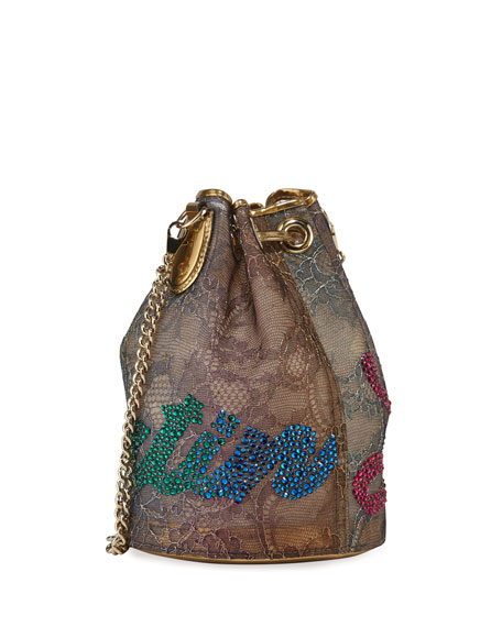 Marie Jane Lace Bucket Bag