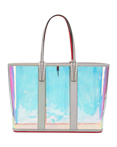 Cabata Glitter Sunset Vinyl Tote Bag