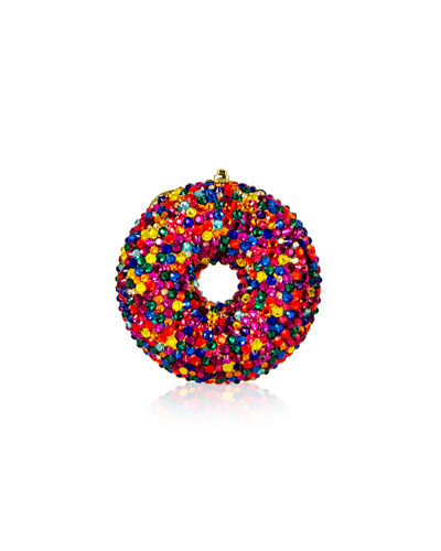 Sprinkles Donut Crystal Pillbox