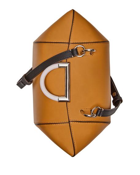 Adele Leather Top Handle Bag
