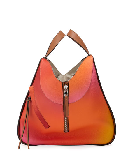 Loewe Hammock Color-Gradient Leather Shoulder Bag