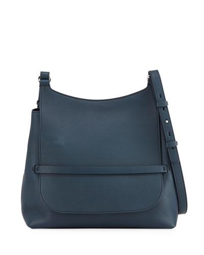 Sideby Smooth Calf Leather Crossbody Bag