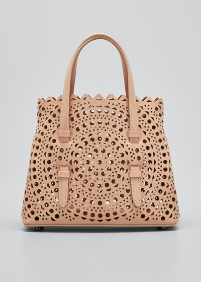 Mina Mini Vienne Laser-Cut Tote Bag