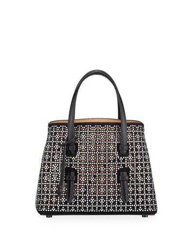 Mina Mini Swarovski Crystal Tote Bag
