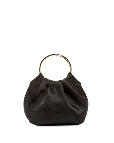 Double Circle Micro Top Handle Bag