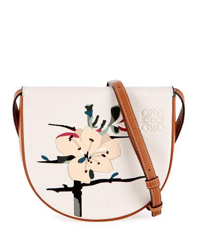 Botanical Mini Calf Shoulder Bag