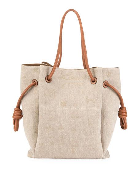 459efcd2aea6 Loewe Flamenco Knot Canvas Tote Bag