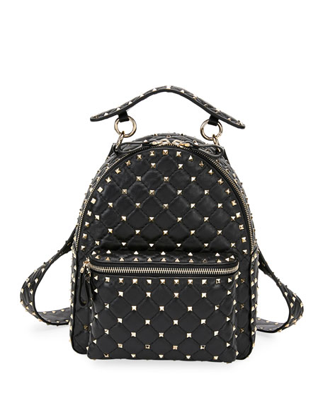 Valentino Garavani Rockstud Spike Small Backpack 5cb01325c6