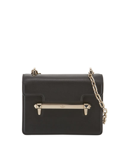 Uptown Small Leather Shoulder Bag