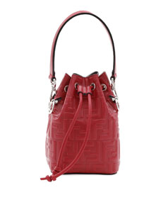 Ff Calf Mon Tresor Bucket Bag by Fendi