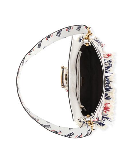 c8f975930487 Fendi Baguette Fendi Mania Beaded Fringe Shoulder Bag