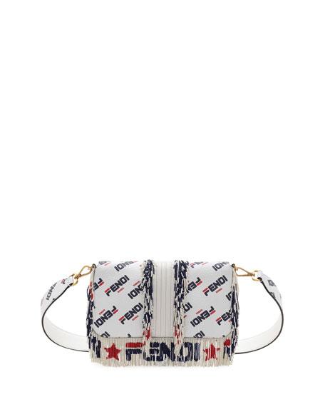 74004630a4e Fendi Baguette Fendi Mania Beaded Fringe Shoulder Bag