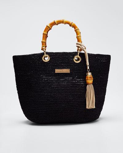 Savannah Bay Super Mini Tote Bag  Black