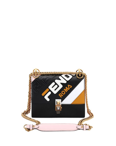 874d12d296b7 Fendi Fendi Mania Kan I Small Shoulder Bag