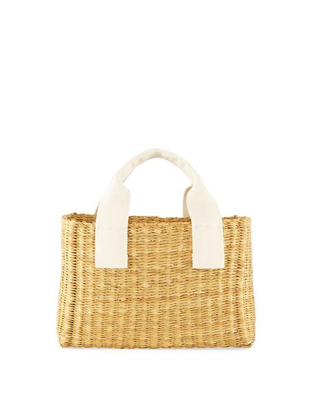 MUUN Ninon Woven Basket Tote Bag 0761008757
