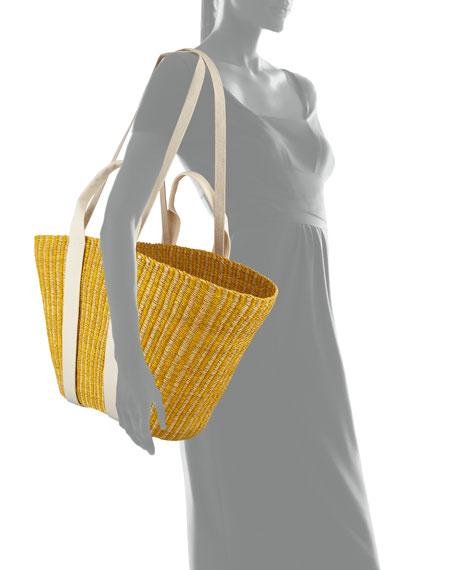 Ava Woven Tote Bag