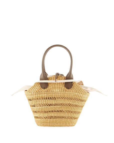 Muun Woven Tina Basket Tote Bag