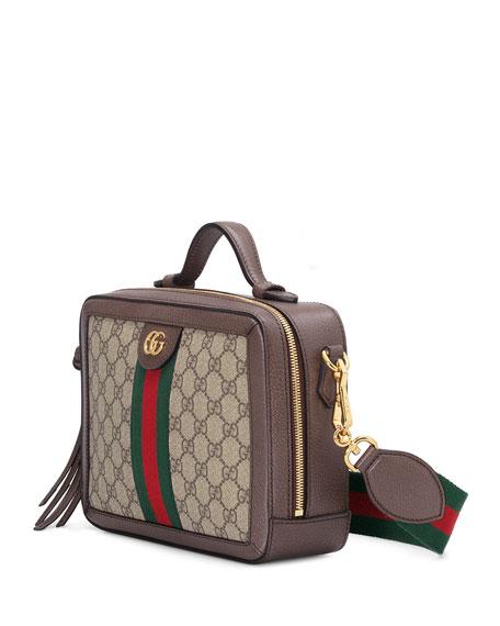 Ophidia Small GG Supreme Shoulder Bag