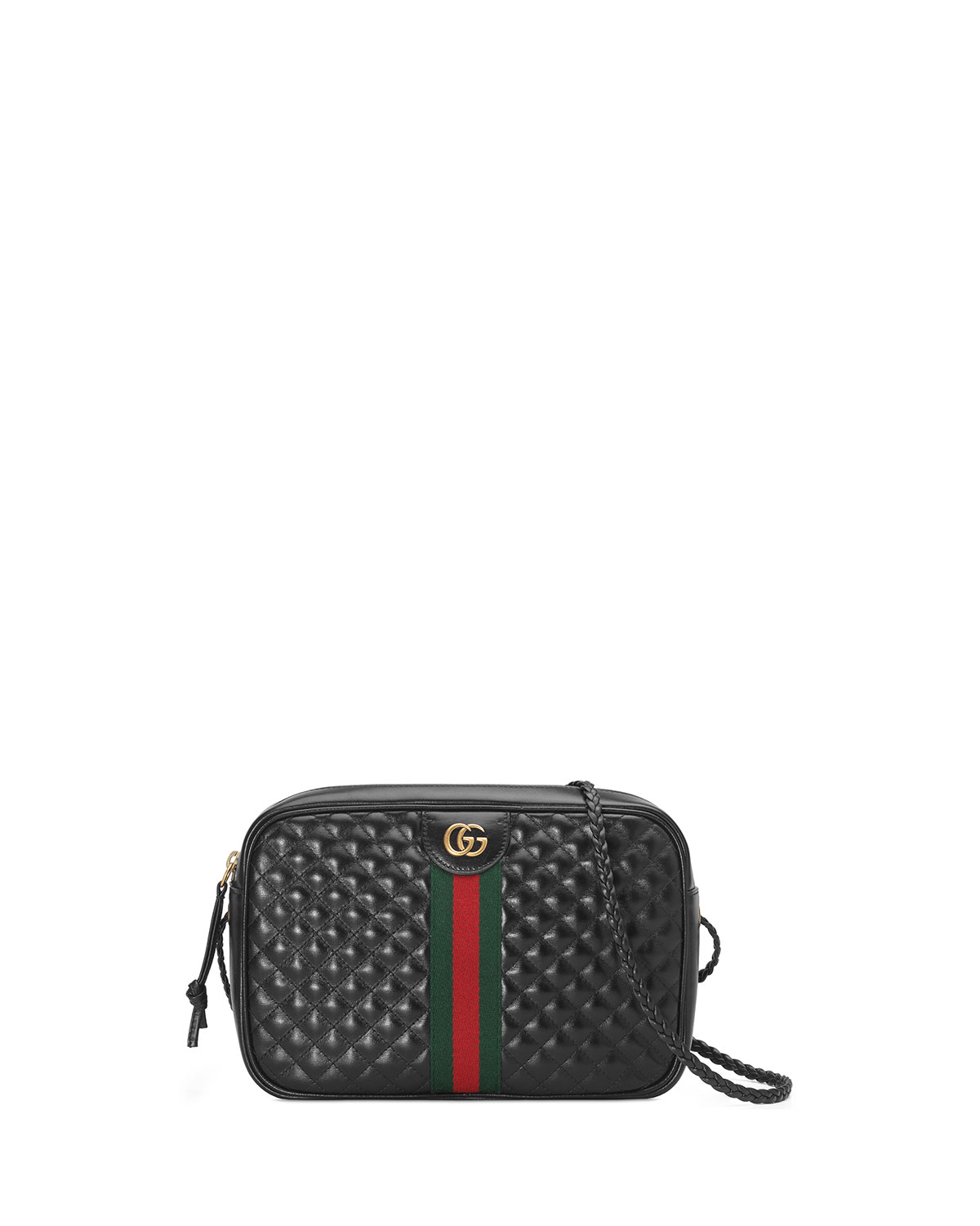 performance sportswear offer discounts how to buy Gucci Trapuntata Small Quilted Leather Crossbody Camera Bag