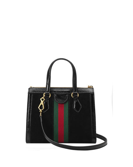 ebb6374f0942 Gucci Ophidia Small Suede Tote Bag