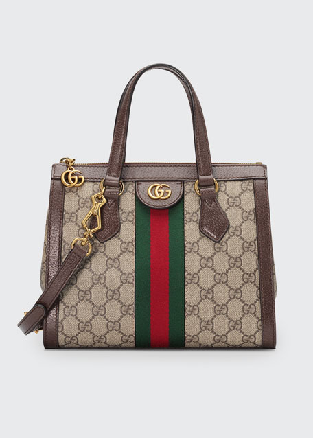 34031e1fc0f Gucci Ophidia Small GG Supreme Canvas Tote Bag