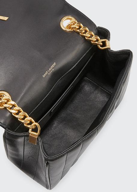 e313b615aba3a Saint Laurent Vicky Medium YSL Monogram Chain Crossbody Bag