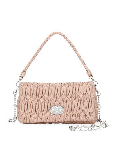 Small Matelassé Crossbody Bag
