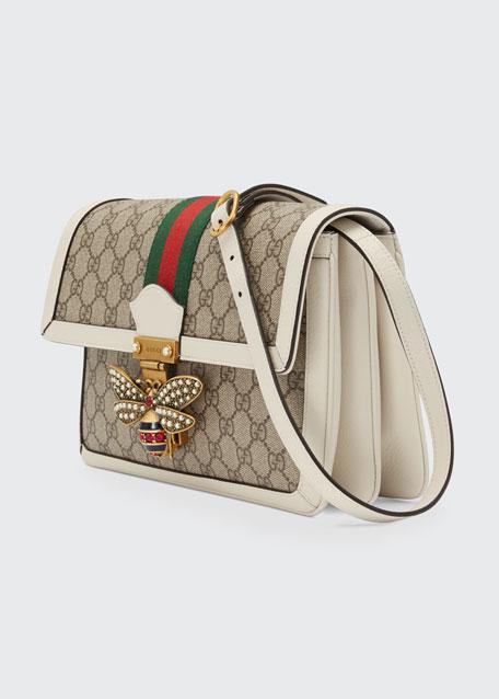 Queen Margaret Medium GG Supreme Shoulder Bag
