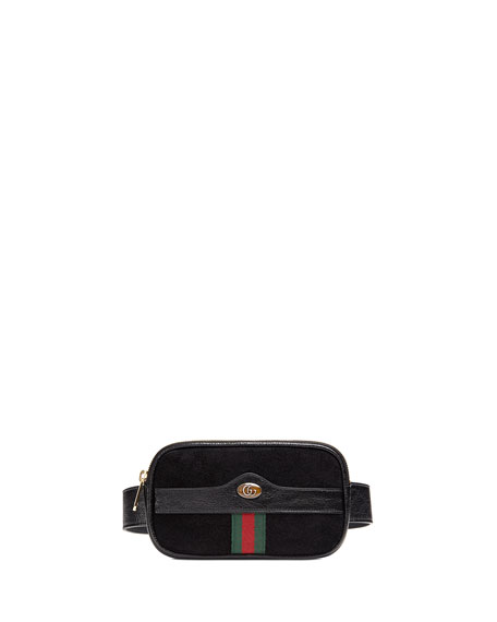 1d7097b21a8 Ophidia Mini Suede Belt Bag