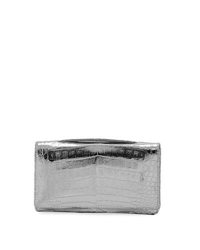 Linda Metallic Evening Clutch/Belt Bag