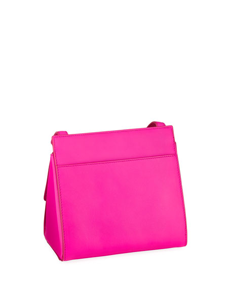 Starr Neon Leather Crossbody Bag