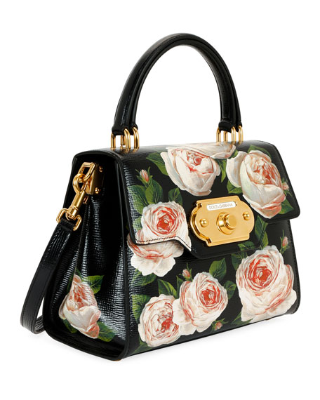 Welcome Medium Palmellato Rose Handbag