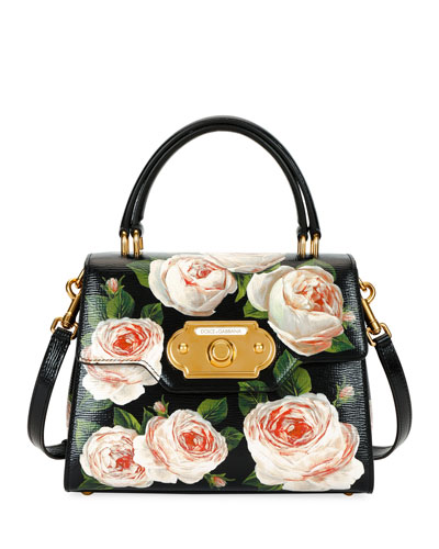 Welcome Medium Palmellato Rose Handbag Quick Look. Dolce   Gabbana 00d1cd760d9c7