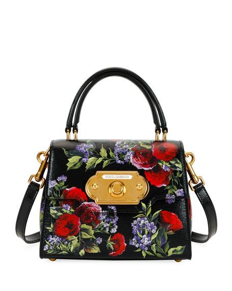 Welcome Palmellato Floral Handbag