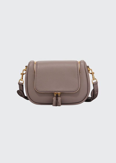 Vere Small Soft Leather Satchel Bag
