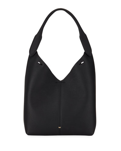 Build A Bag Mini Grain Bucket Bag  Black