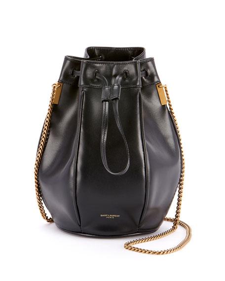 Saint Laurent Talitha Small Chain Bucket Bag 19cd402c17792