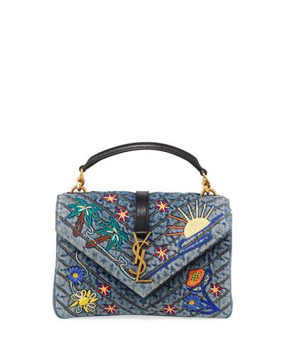 1bee3984cef0 Saint Laurent Handbags   Shoulder   Satchel Bags at Bergdorf Goodman