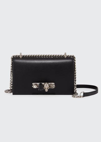Knuckle Flap Shoulder Bag