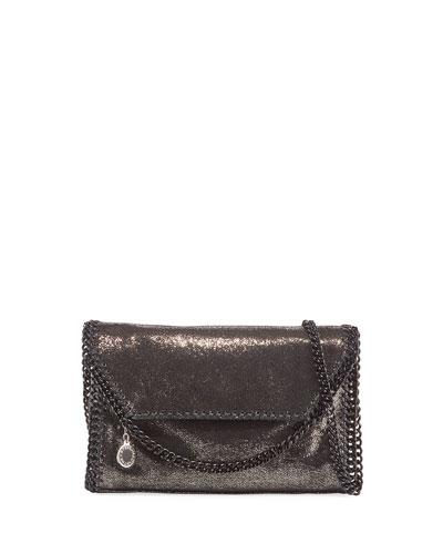 Falabella Mini Spotted Chamois Shoulder Bag