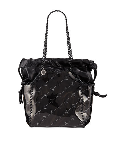 Falabella Small Clear East-West Tote Bag