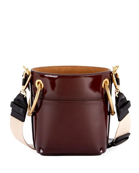 ea2df1e72a46d Chloe Roy Mini Glossy Leather Bucket Bag