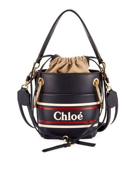 2b7b48a5b7f50 Chloe Roy Mini Leather Bucket Bag