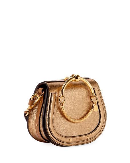 Nile Small Metallic Bracelet Bag